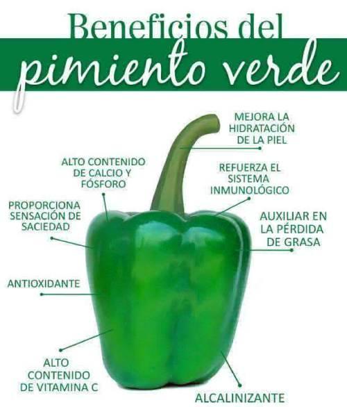 propiedades pimiento verde