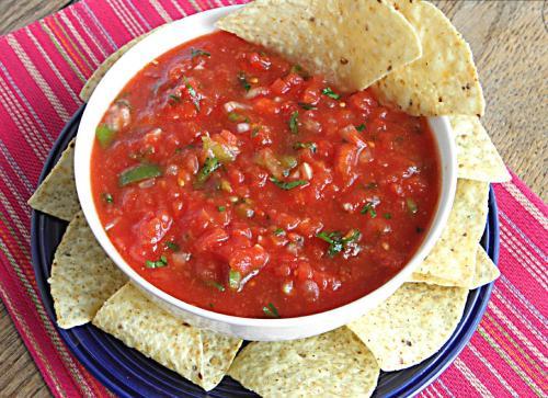 cocinar salsa tex mex