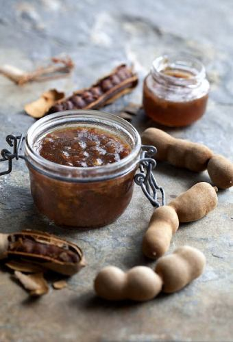 cocinar salsa tamarindo