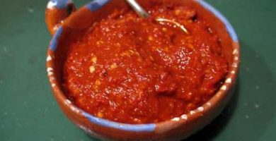 definicion salsa chile morita