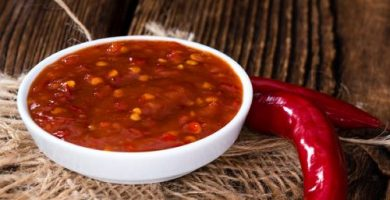 salsa picante sambal oelek